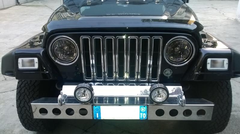 vecchia jeep , nuovi fari Front111