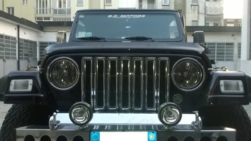 vecchia jeep , nuovi fari Front210