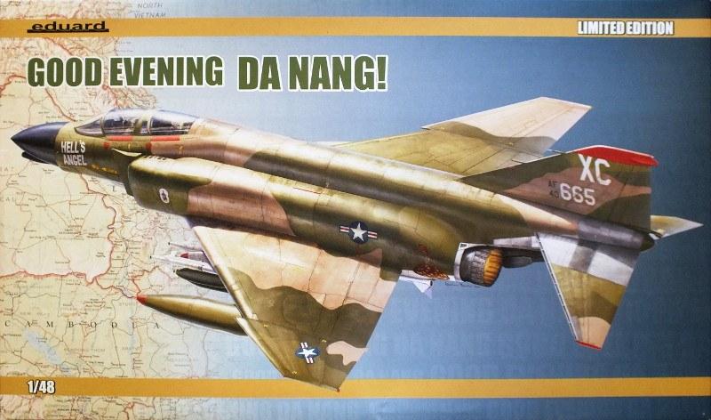 F4-C Phantom II Eduard 1/48 édition limitée - Good evening Da Nang 10586-10