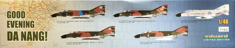 F4-C Phantom II Eduard 1/48 édition limitée - Good evening Da Nang 10586-11