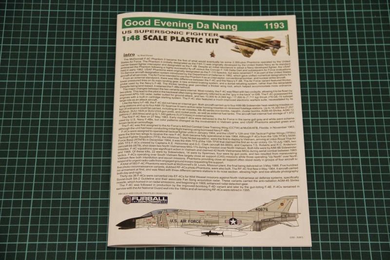 F4-C Phantom II Eduard 1/48 édition limitée - Good evening Da Nang _mg_9912