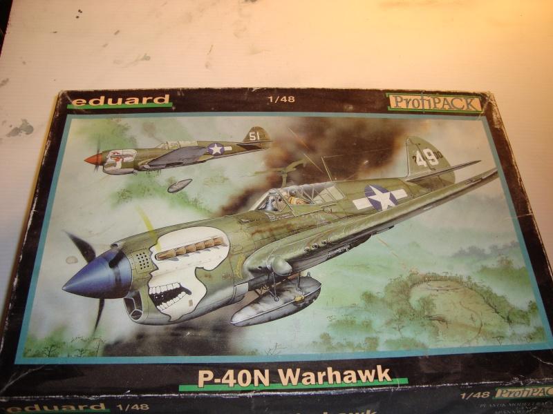 P-40 N Eduard 1/48° Dsc01511