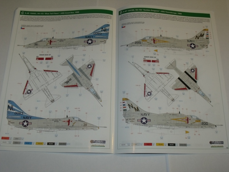 "A-4 E/F Skyhawk - Eduard ""Vietnam Scooters"" limited edition 1/48°. Dscf6236"