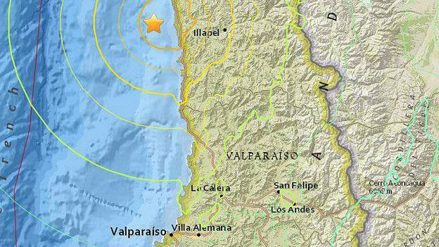 Poderoso terremoto de 8,3 sacude zona centro-norte de Chile 15091610