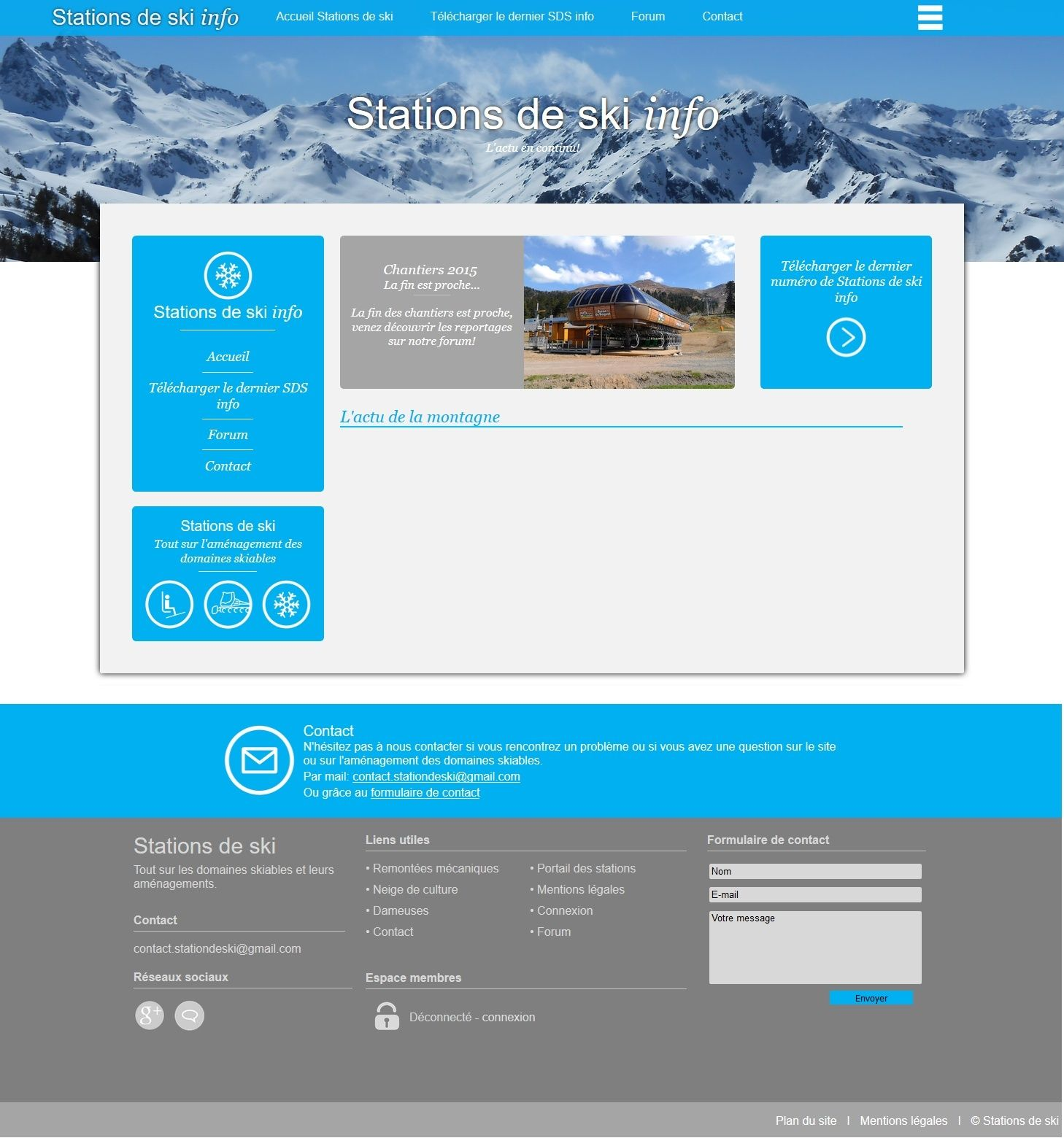 Stations de ski info Sds-in10