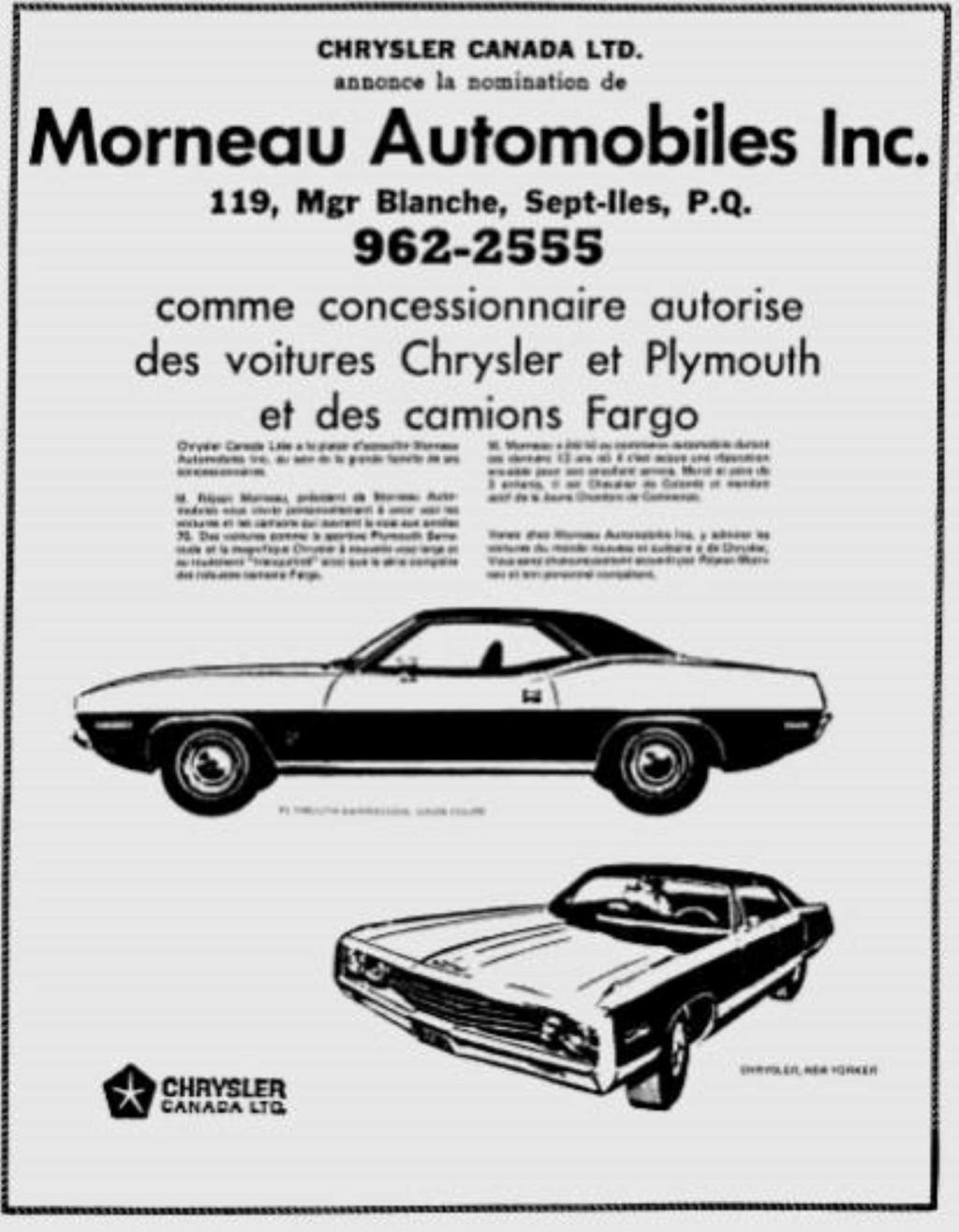 Les anciens dealers Mopar du Québec - Page 7 14516510