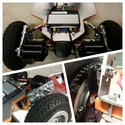 e-MTB   Custom CarbonScrub x Trampa   Willozboard   APS 6.4kW 6374  12S5Ah   VESC Fichie54