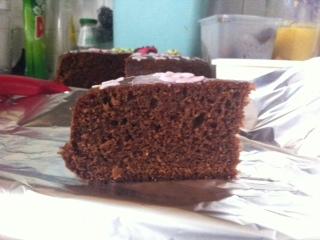 Gateau au chocolat des écoliers Tranch10