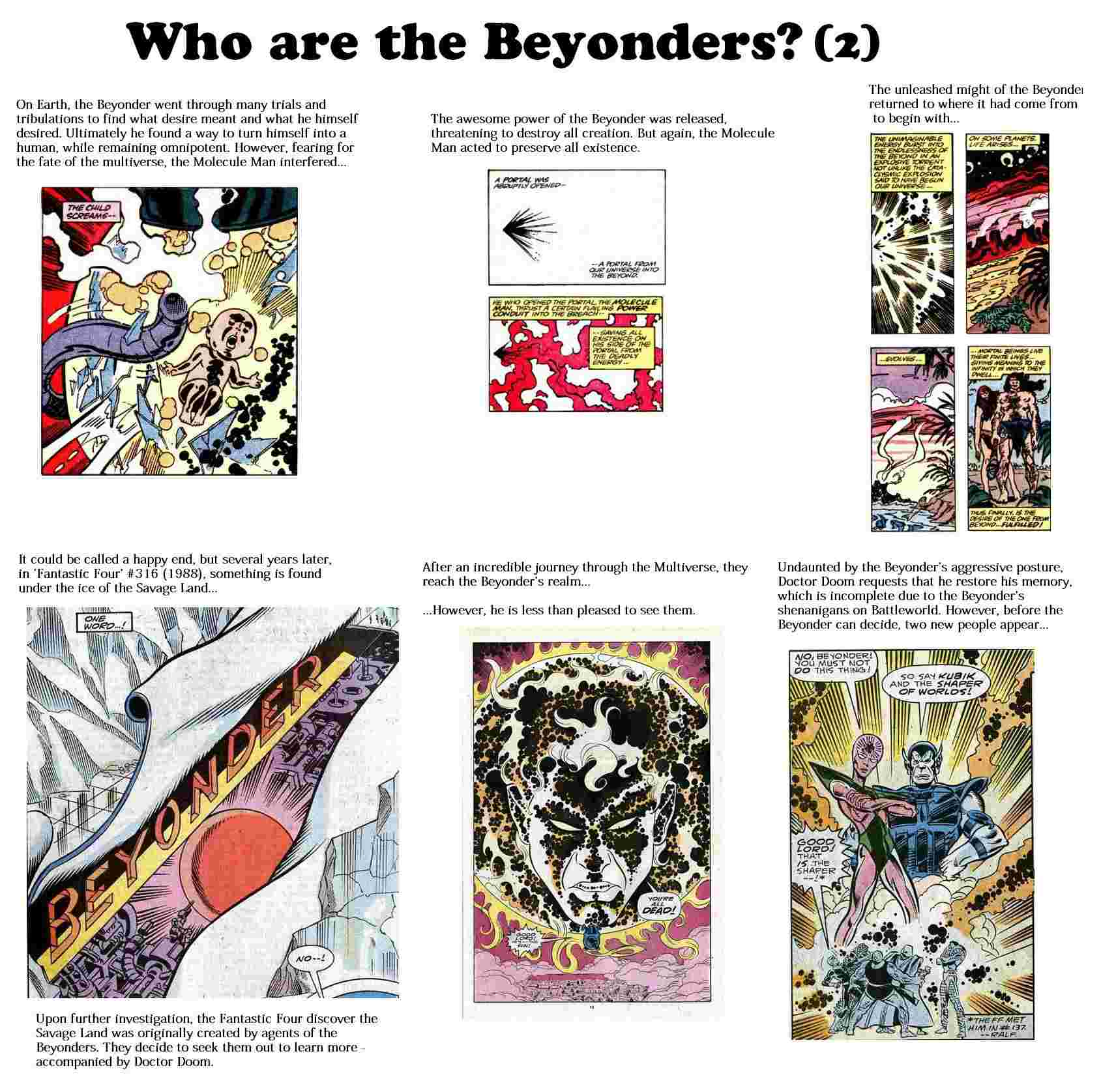 The Beyonders Respect Thread C_data15