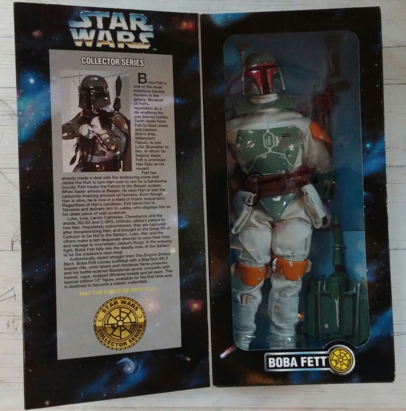 "Star Wars Kenner 12"" Boba10"