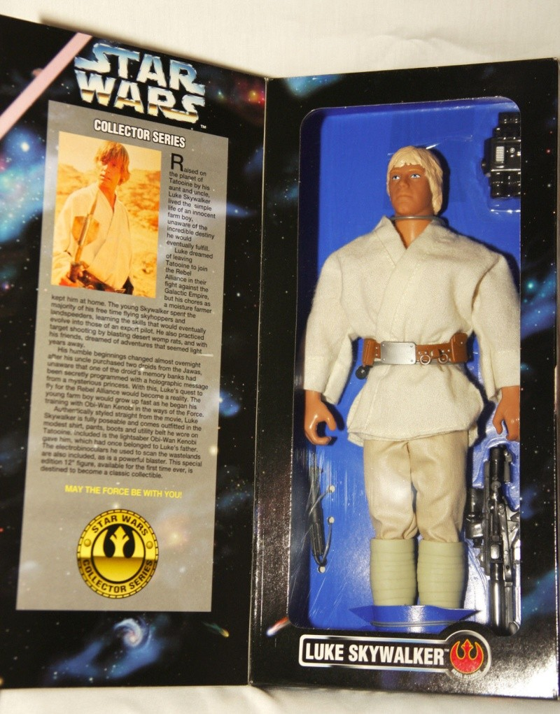 "Star Wars Kenner 12"" Luke10"