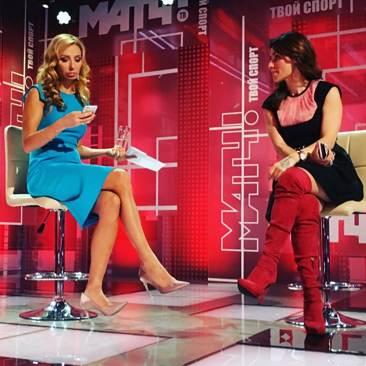 Татьяна Навка - ведущая канала Матч-ТВ 12070910