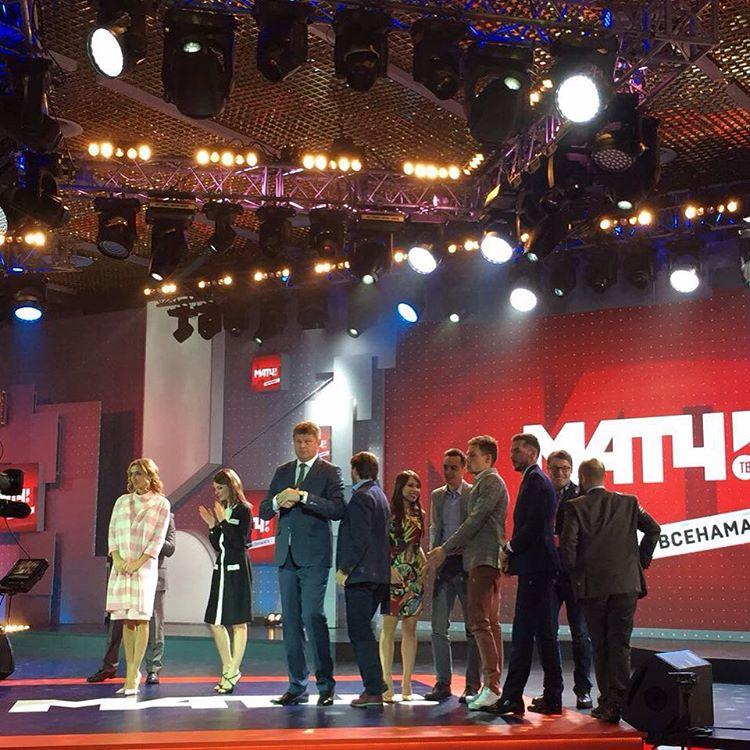 Татьяна Навка - ведущая канала Матч-ТВ - Страница 2 12093811