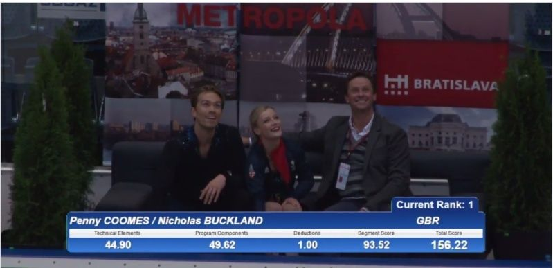 Пенни Кумс - Николас Бакленд / Penny COOMES - Nicholas BUCKLAND GBR  2015-128