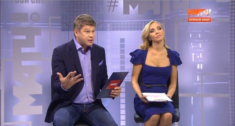 Татьяна Навка - ведущая канала Матч-ТВ - Страница 3 2015-159