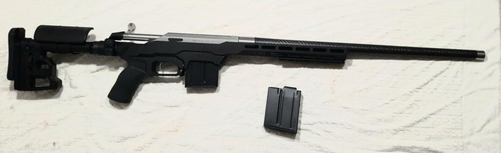 Tikka T3 stainless Custom canon carbon 308win gauchère  20201011