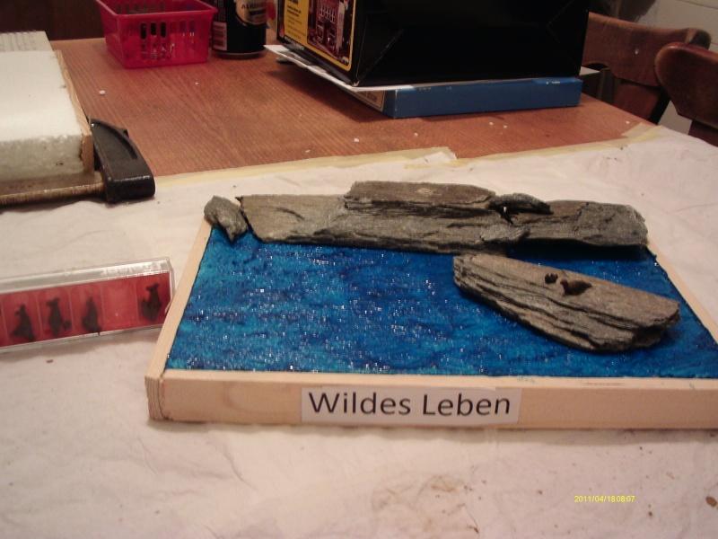 """Diorama """"Wildes Leben"""" 00119"""