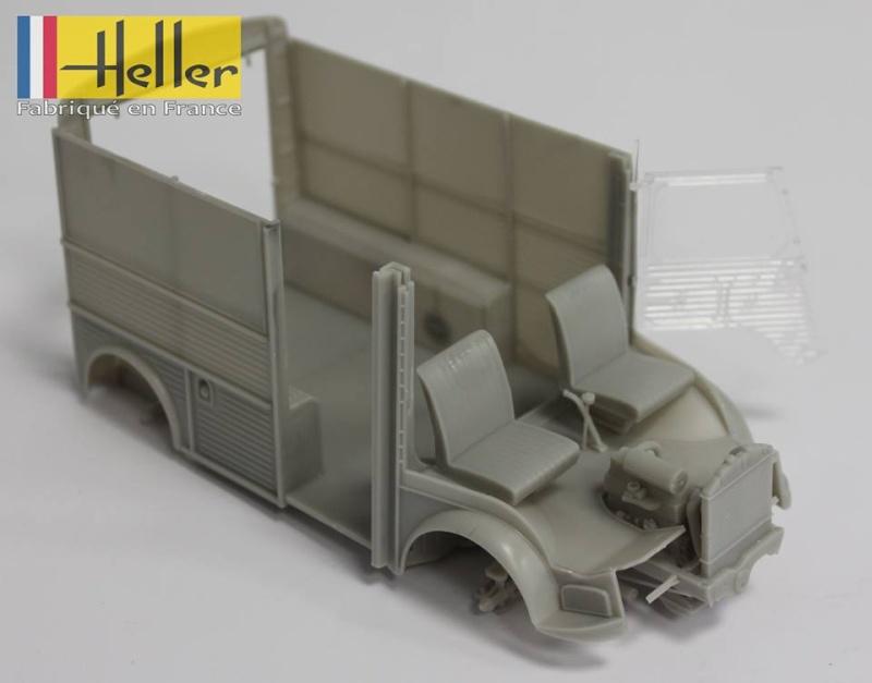 HELLER fourgon Citroen HY 1/24 12112110
