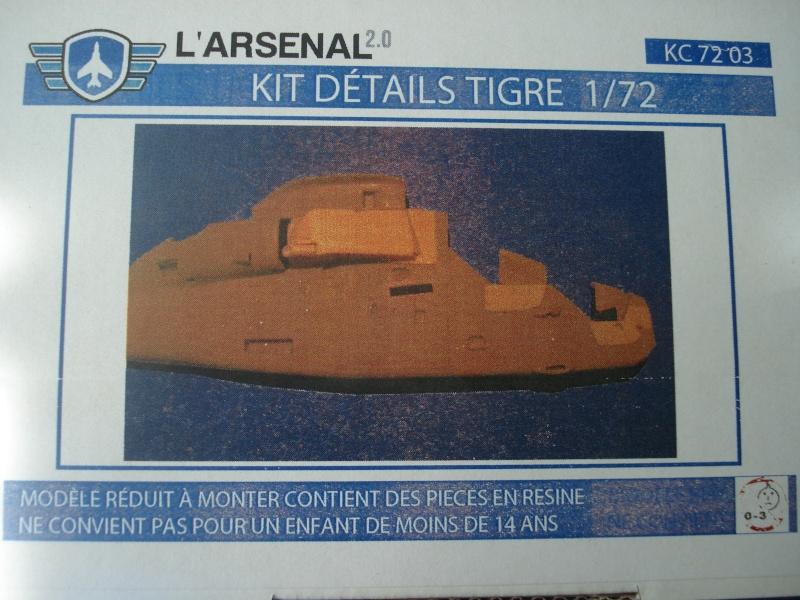 [l'arsenal 2.0] kit détails TIGRE pour maquette revell au  1/72e   Dsc04926