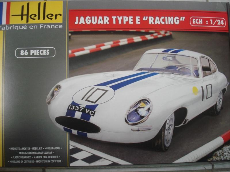 "Jaguar type E ""RACING""  (heller ) 1/24e Dsc05010"