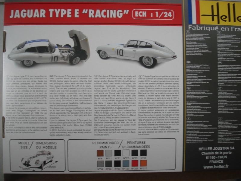 "Jaguar type E ""RACING""  (heller ) 1/24e Dsc05012"