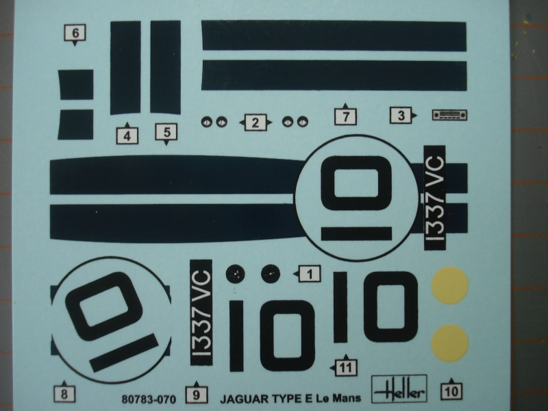 "Jaguar type E ""RACING""  (heller ) 1/24e Dsc05013"