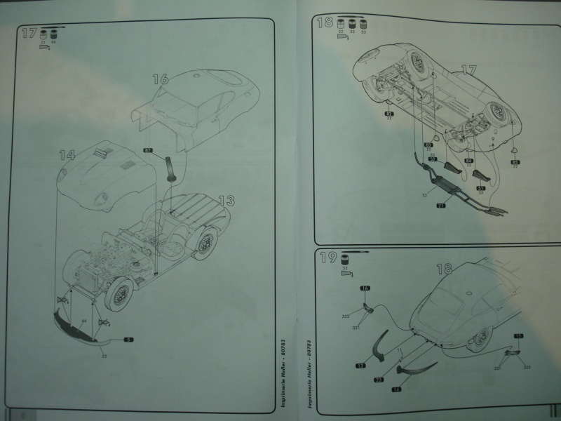 "Jaguar type E ""RACING""  (heller ) 1/24e Dsc05027"