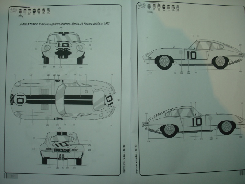 "Jaguar type E ""RACING""  (heller ) 1/24e Dsc05028"