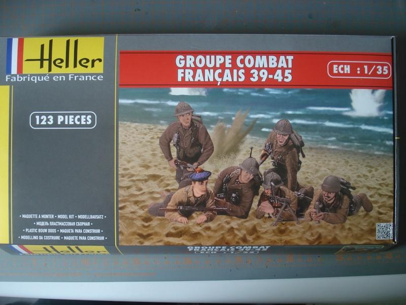 [HELLER] Groupe de combat Français 39-45 - 1/35e ref: 81224  Dsc05029