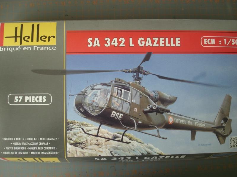 AEROSPATIALE SA 342 GAZELLE Hot ALAT 150ème Réf 80486 Dsc05037