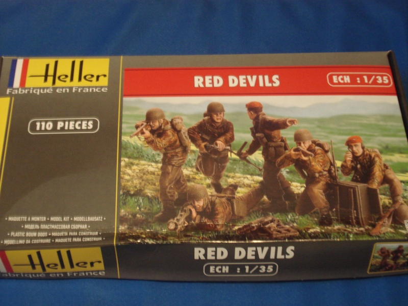 [HELLER] RED DEVILS - 1/35. Ref: 81222 Dsc05118