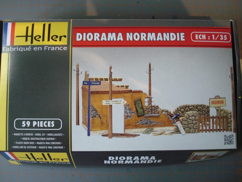 [HELLER] Diorama ruines Normandie 1/35e  Ref: 81250 Dsc05129