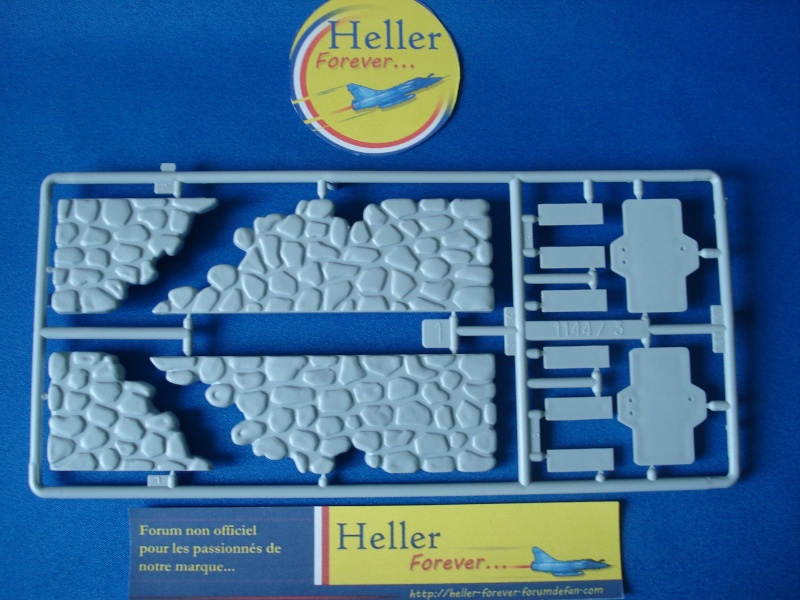 [HELLER] Diorama ruines Normandie 1/35e  Ref: 81250 Dsc05132