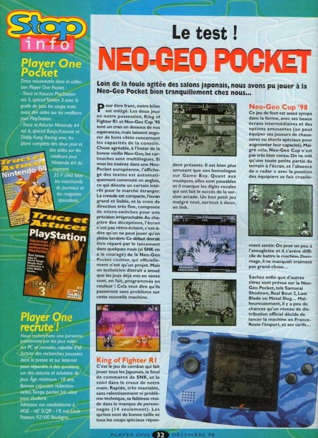 Ma découverte de la Neo·Geo Pocket - Page 2 Player11