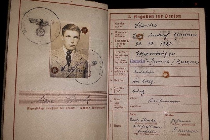 Vos livrets militaires allemands WWII (Soldbuch, Wehrpass..) / Heer-LW-KM-SS... - Page 2 Image62