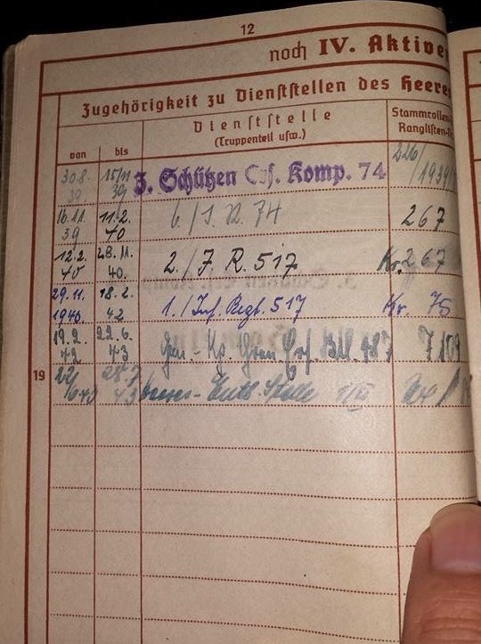 Vos livrets militaires allemands WWII (Soldbuch, Wehrpass..) / Heer-LW-KM-SS... - Page 2 Image64