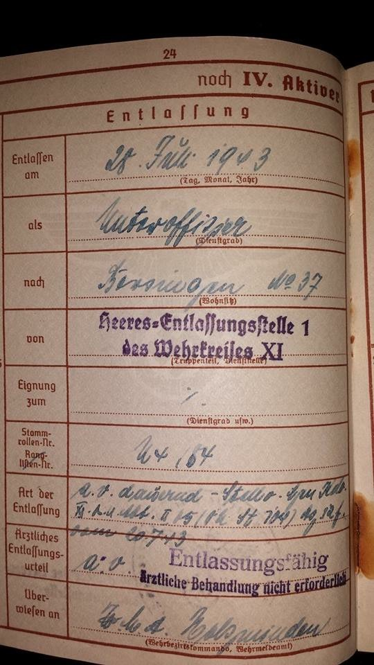 Vos livrets militaires allemands WWII (Soldbuch, Wehrpass..) / Heer-LW-KM-SS... - Page 2 Image66
