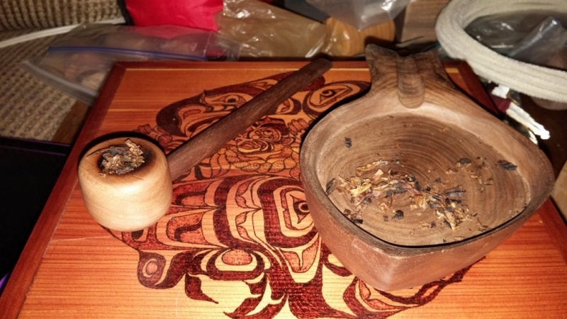 Gettingready for my first taste of Blackwoods Flake 11061512