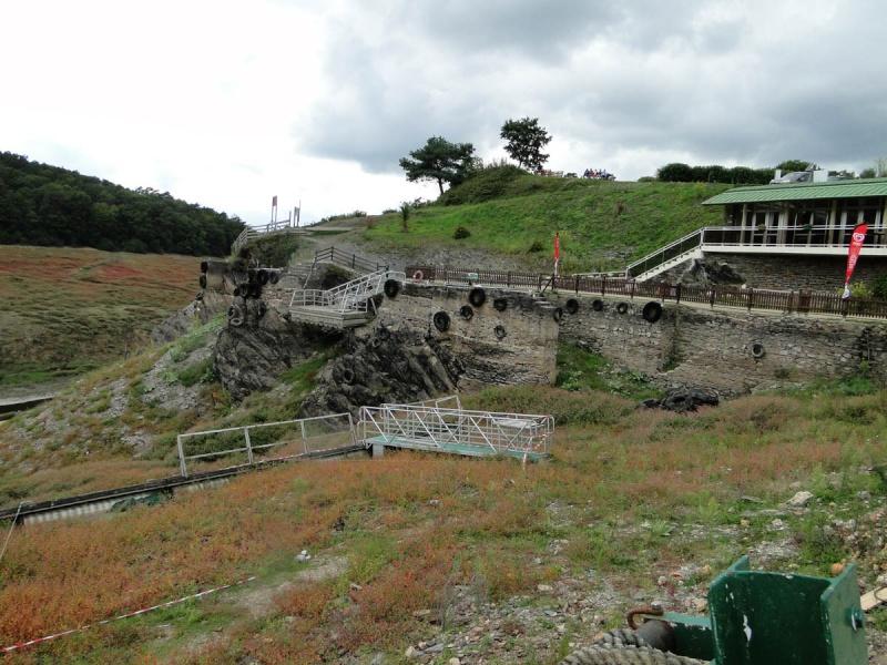 Une balade un peu particulière : l'assec du barrage de Guerlédan 2_emba10