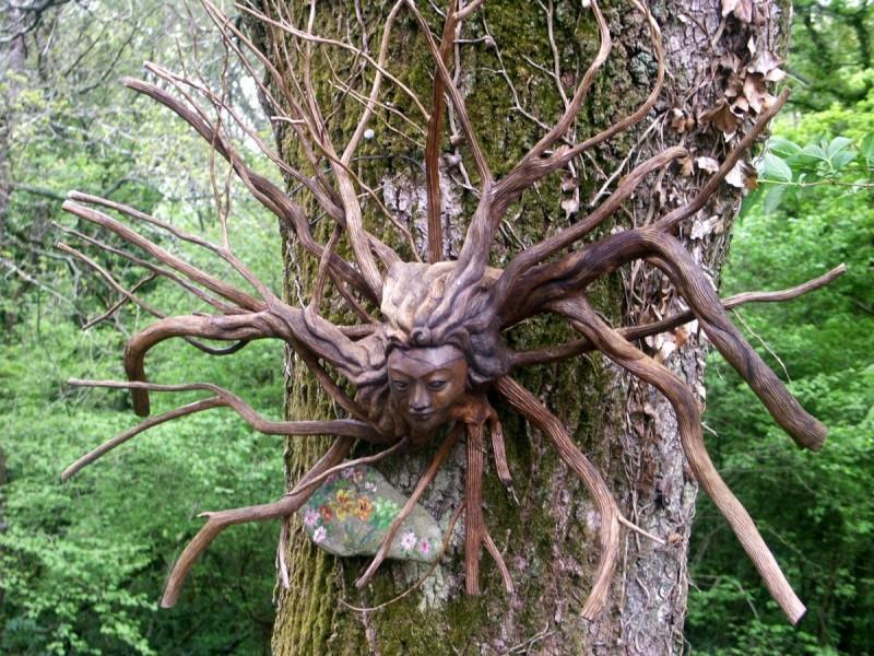 La forêt enchantée... L'esprit des bois Combri10