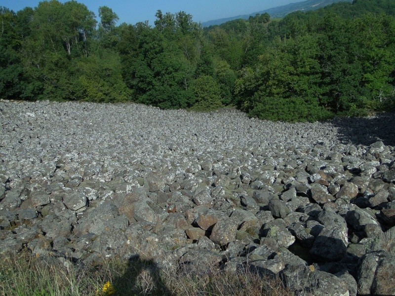 Anciennes coulées basaltiques  Dsc01313
