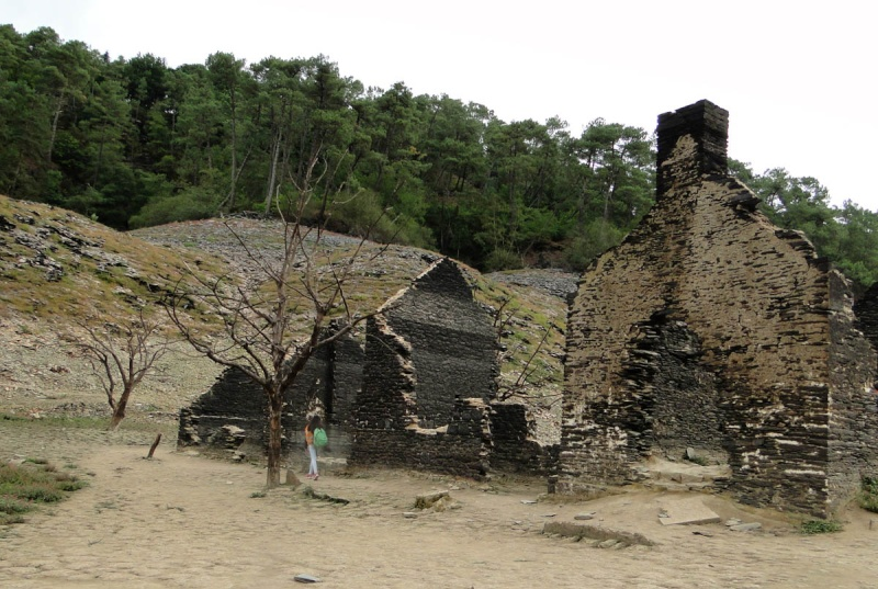 Une balade un peu particulière : l'assec du barrage de Guerlédan Guerly18