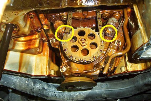 vidange moteur avec changement du joint de carter  Pompe_12