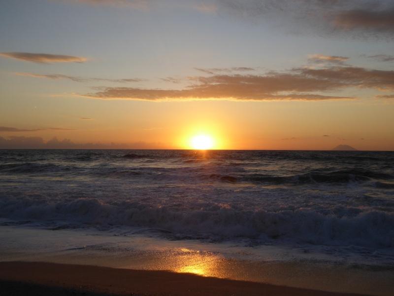 Sonnenuntergang in Kalabrien P1030214