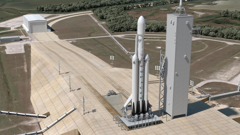 [SpaceX] Pad 39 A : actualités et modifications pour F9 et FH Pad39a11