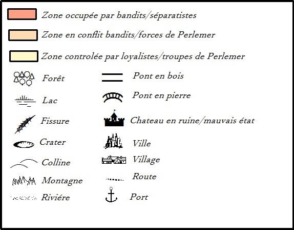 Carte géographique et politique de la Baronnie de Perlemer Lygend11