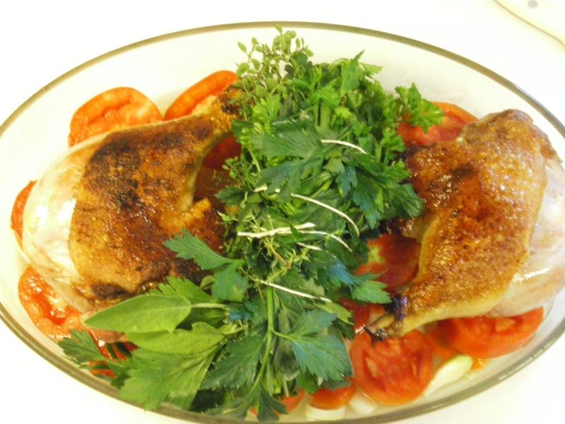 Cuisse de canard cuisson lente Imgp4411