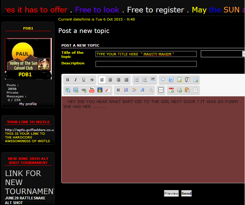 HOW TO POST TO THIS FORUM also HOW TO POST A NEW TOPIC & WHAT IF I CANT FIND A SIMILAR SUBJECT Choke_18