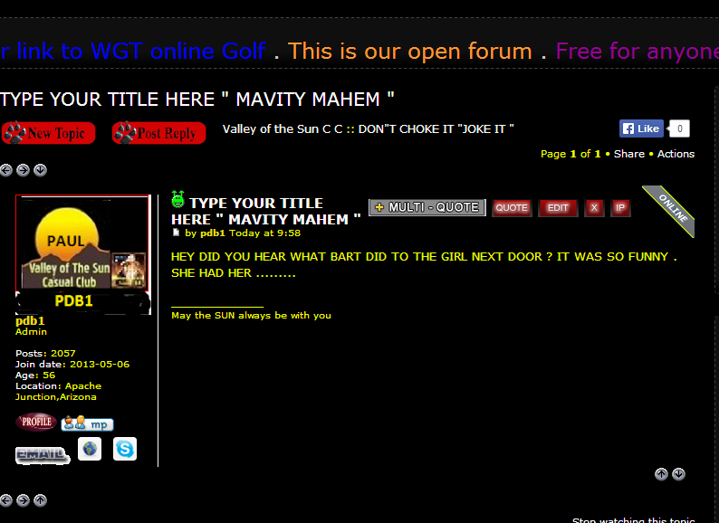 HOW TO POST TO THIS FORUM also HOW TO POST A NEW TOPIC & WHAT IF I CANT FIND A SIMILAR SUBJECT Choke_19
