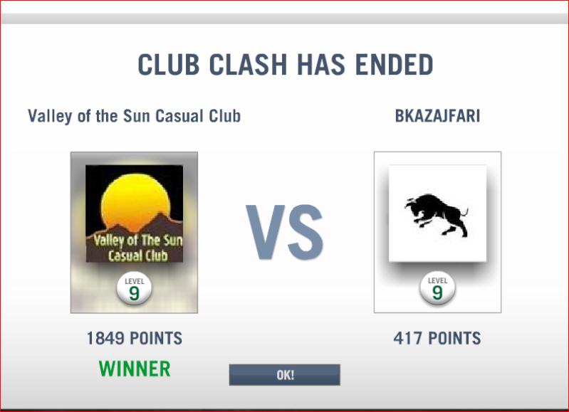 CLASH # 7 RESULTS  Clash_11